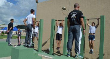 Testes físicos são de caráter eliminatório e serão acompanhados por policiais militaresFoto: Ascom PMAL