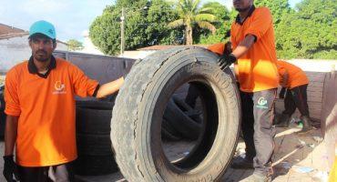 Campanha de coleta de pneus faz parte da Semana do Meio Ambiente Foto: Ascom Semarh